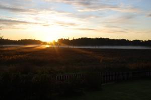 Snart kommer soluppgången se ut så här