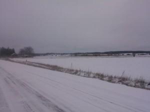 Äntligen snö