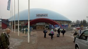 Esport Ratiopharm Arena - Ett ställe som ger blandade känlsor
